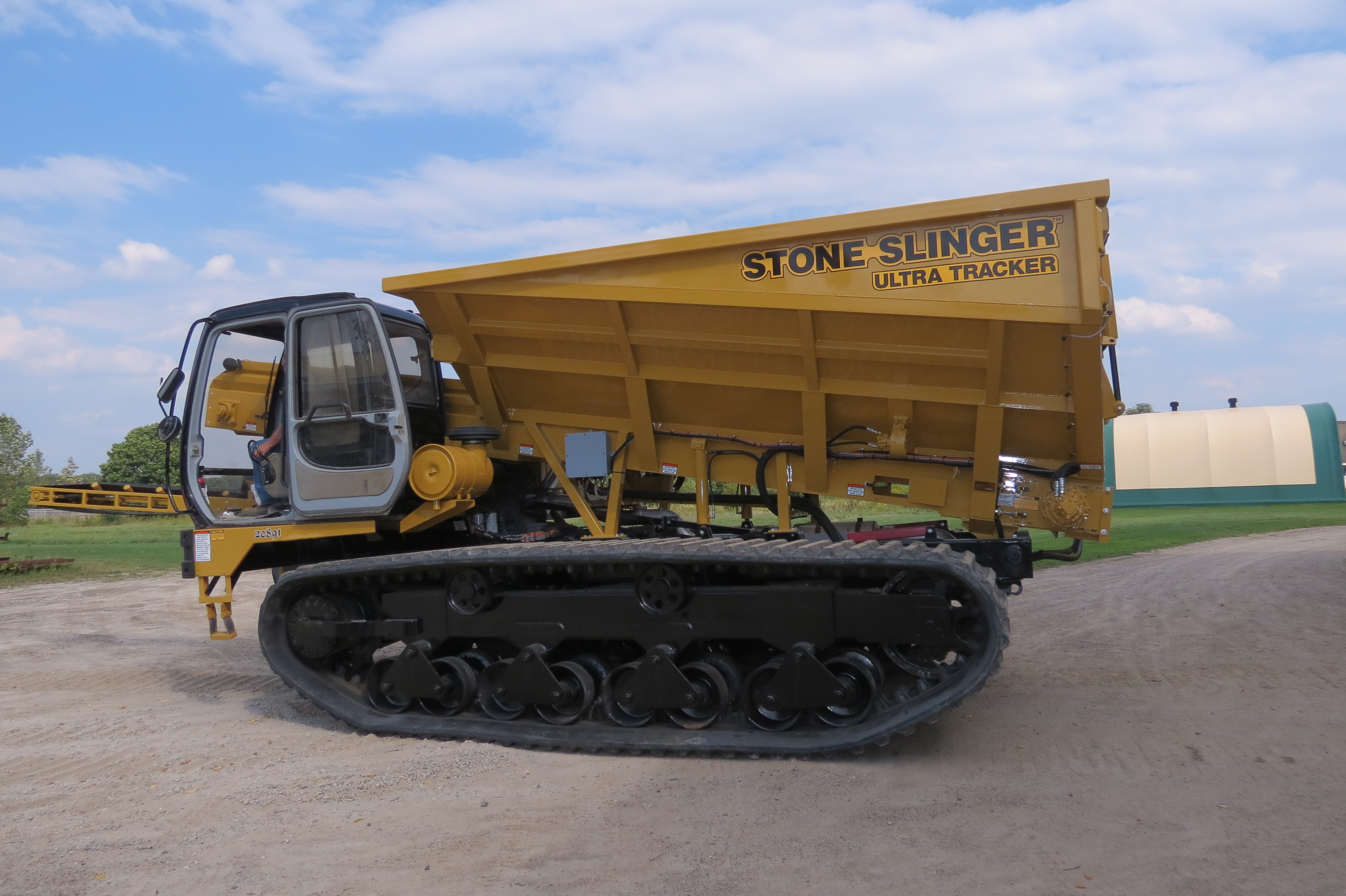 The Morooka 3300 Rubber Tracked Carrier Weighs In At