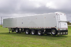 A new line of agricultural hopper trailers from Titan Trailers introduces a unique unibody design that increases overall strength while increasing load capacity by more than 2000 lbs.