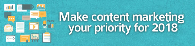 Make content marketing your priority for 2016