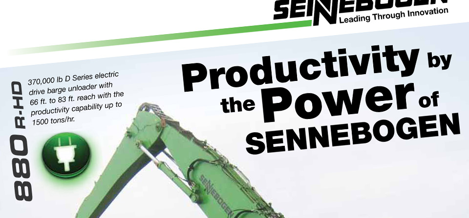 Productivity by the Power of SENNEBOGEN