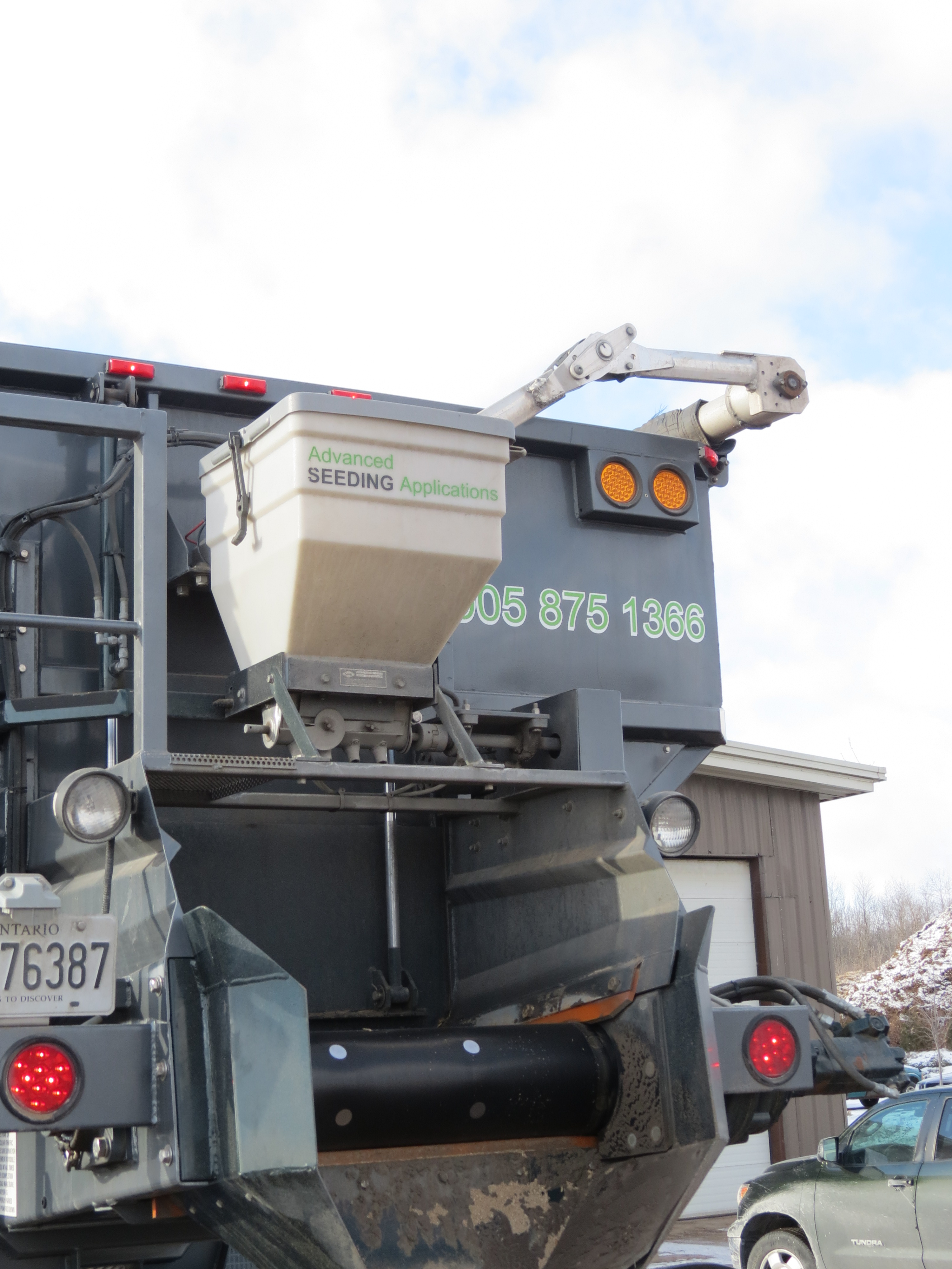 Advanced Stone Slinger System Achieves Lower Costs Plus New