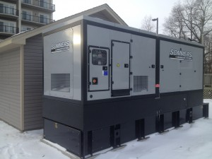 Once the business decision was made to have a generator there to look after all amenities of the hotel, a Sommers representative worked with Hotel Management to have the right unit in place and ready to go.