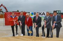 Groundbreaking ceremony for the new BEKA plant in Wannberg