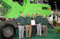 """Strongco Brings SENNEBOGEN """"Dealer Of The Year"""" Award To Canada"""