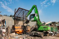 SENNEBOGEN 821 E Makes Immediate Impact In New Waste Recycling Operation