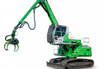 SENNEBOGEN Tree Care Machines Head Off-Road  With New 718 R-HD Crawler Model