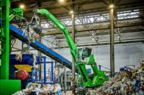 """Recycling Specialist OZO Is """"Thinking Green"""" In Every Way With Electric Drive SENNEBOGEN 818"""