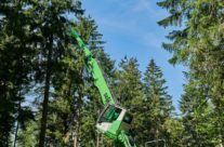 SENNEBOGEN Up-Sizes Its Tree Care Line With New 738 M Purpose-Built Handler
