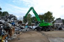 SENNEBOGEN Material Handlers Mark Milestones In Growth For Allied Salvage Metals